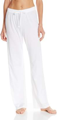 Hanro Women's Cotton Deluxe Drawstring Pajama Pant