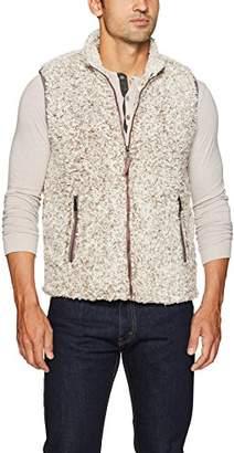 True Grit Men's Frosty Tipped Double Vest with Zip Pockets