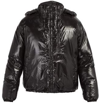 Givenchy Hooded Quilted Jacket - Mens - Black