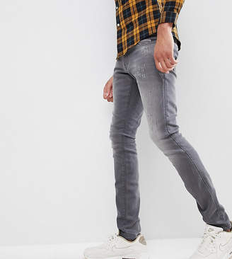 G Star G-Star Revend Super Slim Jeans with Abraisons Washed Black