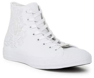 Converse Embossed High Top Sneaker