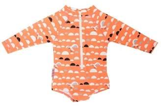 Little Miss SOOKIBABY C. Gull One-Piece Rashguard Swimsuit (Baby Girls)