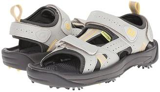 Foot Joy FootJoy Golf Sandal (All Over Cloud/Yellow Trim