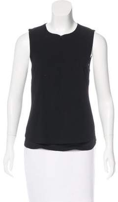 A.L.C. Crew Neck Sleeveless Top