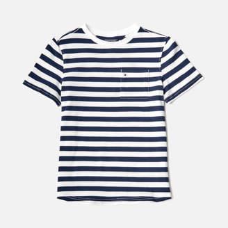 Tommy Hilfiger Boys' Ame Bright Piqué Stripe T-Shirt