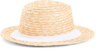 Hat Attack Summer City Rancher Hat With Fringe Trim