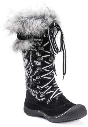 Muk Luks Gwen Faux Fur Lined Snow Boot