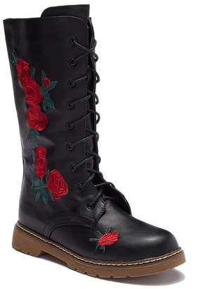 OLIVIA MILLER OMG Floral Boot (Little Kid & Big Kid)