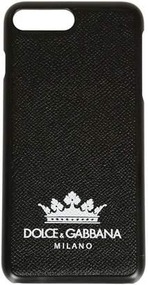 Dolce & Gabbana Dolce \u0026 Gabbana Crown Print Iphone 8+ Case