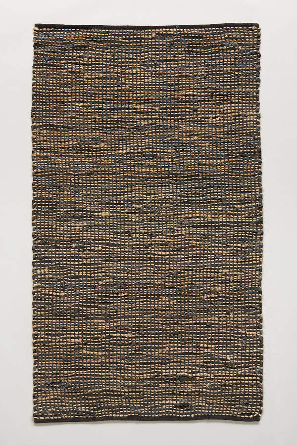 Anthropologie Anthropologie Leather-Twined Rug