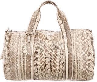 Rebecca Minkoff Embossed Leather Satchel $195 thestylecure.com