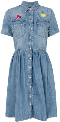 Diesel denim dress $316.70 thestylecure.com