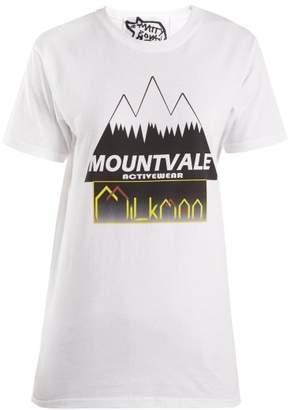 Matty bovan Matty Bovan - Mount Vale Cotton T Shirt - Womens - White