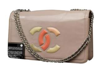 Chanel Pink Patent leather Handbag