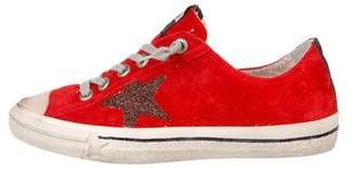 Golden Goose VStar2 Suede Sneakers