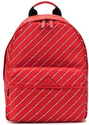 Karl Lagerfeld Paris Stripe Logo Backpack