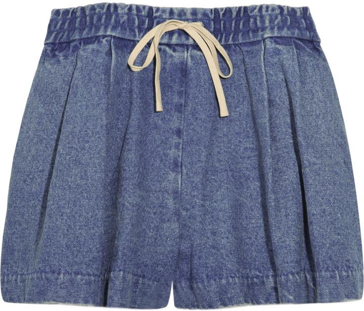 3.1 Phillip Lim Denim drawstring shorts