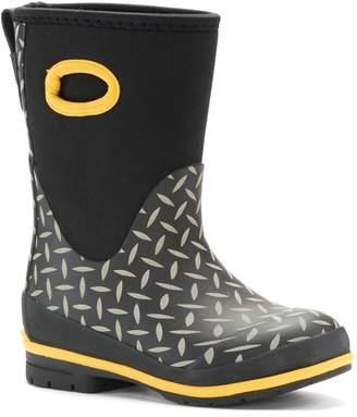 Western Chief Camo Neoprene Boys' Waterproof Rain Boots