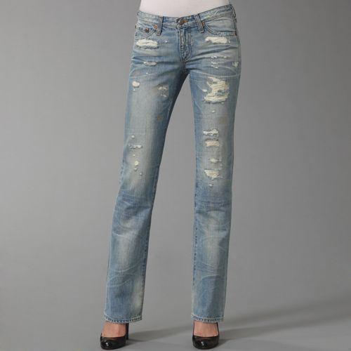 AG Adriano Goldschmied Distressed Denim Jeans