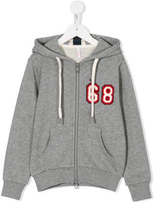 Sun 68 68 patch zip hoodie