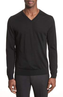 Lanvin Wool V-Neck Sweater