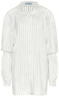 Prada Striped silk shirt