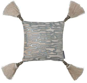 LILI ALESSANDRA Christian Beaded Accent Pillow