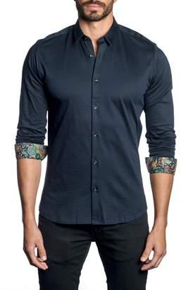 Jared Lang Paisley Cuff Sport Shirt