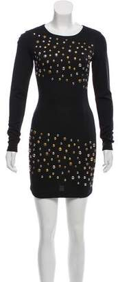 Pierre Balmain Embellished Bodycon Dress w/ Tags