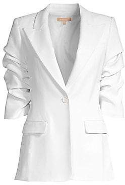 Michael Kors Women's Crushed Sleeve Blazer
