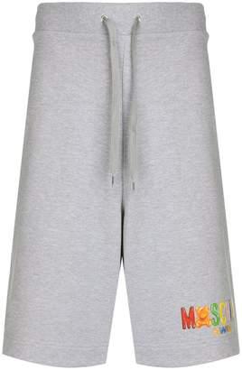 Moschino drawstring logo shorts