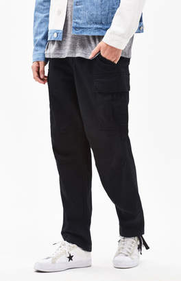 PacSun Baggy Cargo Chino Black Pants b612f7ccea9e