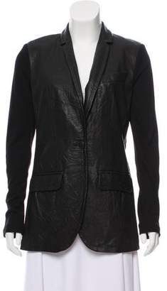 Yigal Azrouel Structured Leather Jacket w/ Tags
