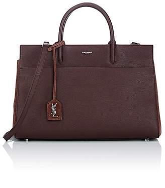 Saint Laurent Women's Rive Gauche Leather Tote Bag