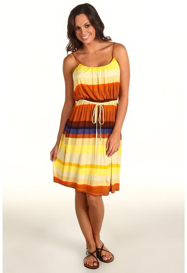 Quiksilver - Sundowner Dress (Sundowner Stripe) - Apparel