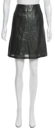 Marc Jacobs Printed Silk Skirt w/ Tags
