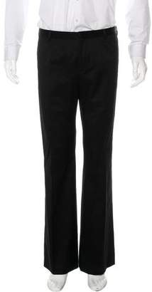 Burberry Flat Front Dress Pants