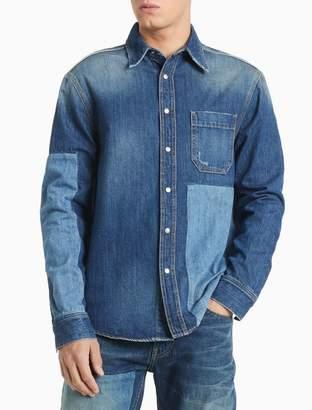 Calvin Klein Patchwork Utility Shirt