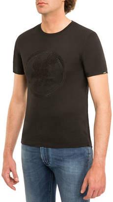 Stefano Ricci Eagle Crewneck T-Shirt