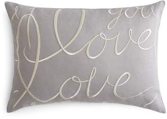 Matouk Love Decorative Pillow, 15 x 21