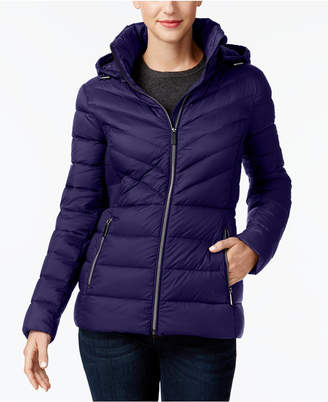 MICHAEL Michael Kors Packable Down Puffer Coat, Created for Macy's