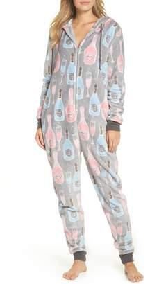 Munki Munki Plush Union Suit One-Piece Pajamas