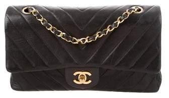 Chanel Classic Medium Chevron Double Flap Bag