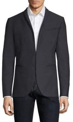 John Varvatos Garment Dyed Shawl Collar Jacket