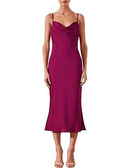 Shona Joy Sawyer Slip Dress