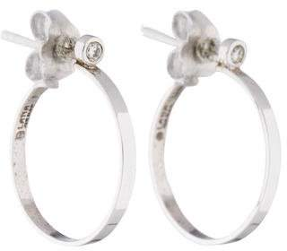 Lana 14K Diamond Hoop Earrings