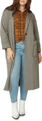Sanctuary Bespoke Plaid Duster Jacket