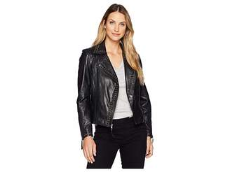Scully Rachelle Studded Ladies Saturday Night Ladies Leather Jacket