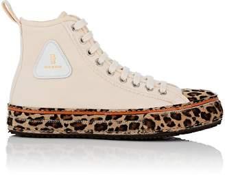 R 13 Women's Canvas Platform Sneakers