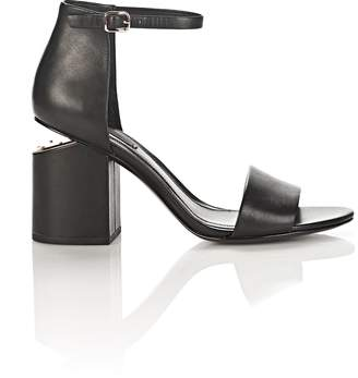 Alexander Wang Abby Sandal With Rose Gold
